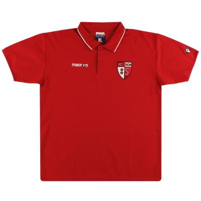 2007-08 FC Sion Macron Polo Shirt *Mint* XL
