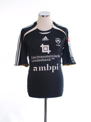 2007-08 FC Vaduz Player Issue Third Shirt #4 L
