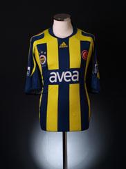 2007-08 Fenerbahce Home Shirt XXL