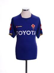 2007-08 Fiorentina Home Shirt M