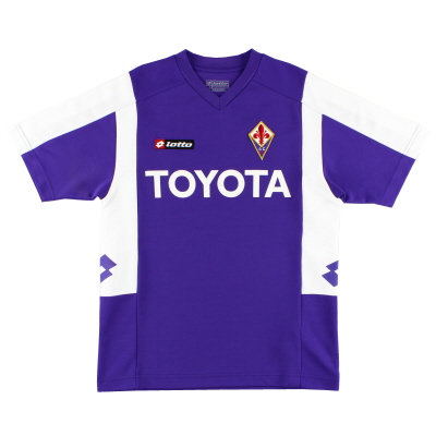 2007-08 Fiorentina Lotto Training Shirt S