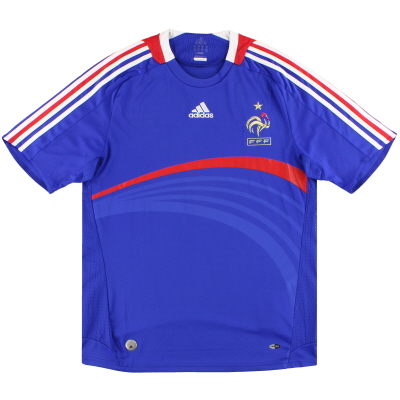 2007-08 France adidas Home Shirt *Mint* L
