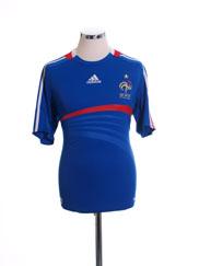 2007-08 France Home Shirt M