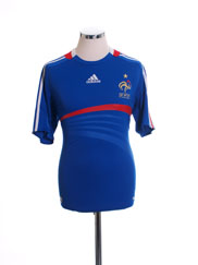 2007-08 France Home Shirt L