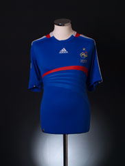 2007-08 France Home Shirt XL