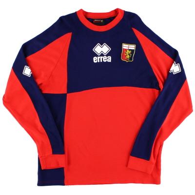 2007-08 Genoa Errea Training Jumper XL
