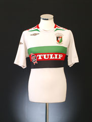 2007-08 Glentoran '125 Years' Home Shirt M