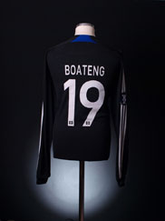 2007-08 Hamburg UEFA Cup Match Issue Away Shirt Boateng #19