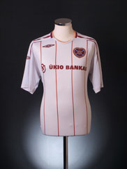 2007-08 Hearts Away Shirt L