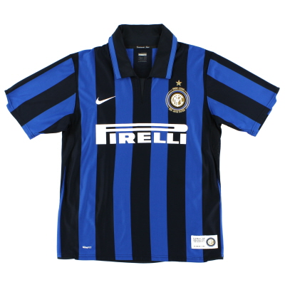 2007-08 Inter Milan Centenary Home Shirt L.Boys