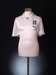 2007-08 Italy Away Shirt L