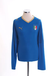 2007-08 Italy Home Shirt /