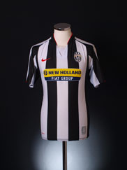 2007-08 Juventus Home Shirt L