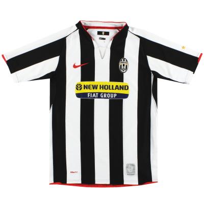 2007-08 Juventus Nike Home Shirt XL.Boys