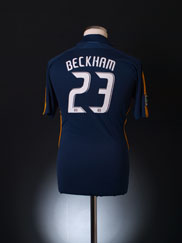 2007-08 LA Galaxy Away Shirt Beckham #23 M