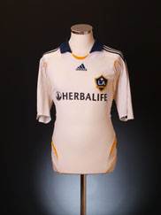 2007-08 LA Galaxy Home Shirt M