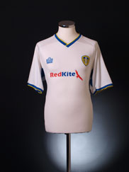 2007-08 Leeds Home Shirt M