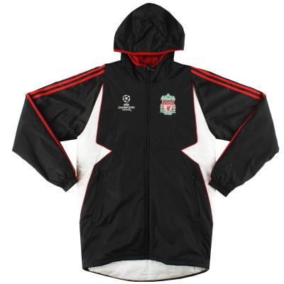 2007-08 Liverpool adidas Champions League Padded Rain Coat S