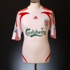 2007-08 Liverpool Away Shirt Gerrard #8 L