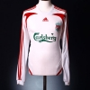 2007-08 Liverpool Away Shirt Gerrard #8 L/S XXL