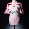 2007-08 Liverpool Away Shirt Gerrard #8 L.Boys