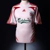 2007-08 Liverpool Away Shirt Gerrard #8 M