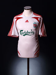 2007-08 Liverpool Away Shirt M