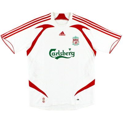 2007-08 Liverpool adidas Away Shirt L