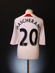 2007-08 Liverpool Away Shirt Mascherano #20 XXL