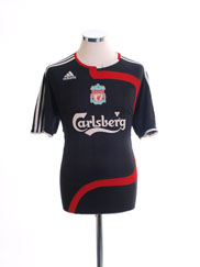 2007-08 Liverpool Third Shirt L