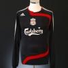 2007-08 Liverpool Third Shirt Arbeloa #17 L/S M