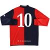 2007-08 Lumezzane Home Shirt #10 L/S XL