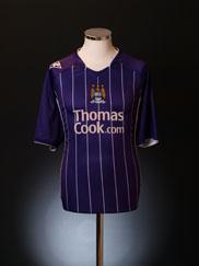 2007-08 Manchester City Away Shirt XL