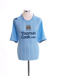 2007-08 Manchester City Home Shirt M
