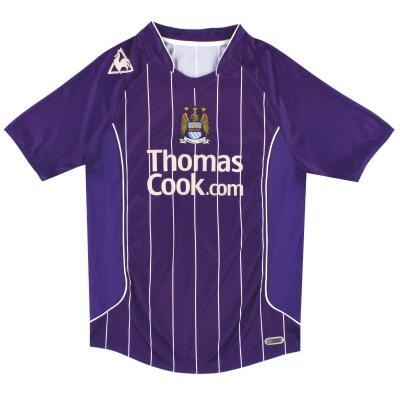 2007-08 Manchester City Le Coq Sportif Away Shirt S