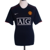 2007-08 Manchester United Nike Away Shirt Anderson #8 S