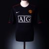 2007-08 Manchester United Away Shirt Ronaldo #7 XL
