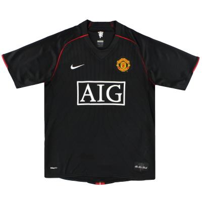 2007-08 Manchester United Nike Away Shirt M