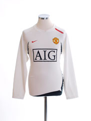 2007-08 Manchester United Training Top M