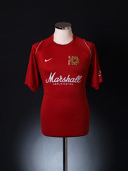 2007-08 MK Dons Away Shirt M