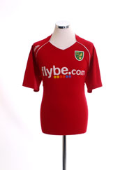 2007-08 Norwich City Away Shirt XL