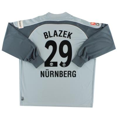2007-08 Nurnberg Goalkeeper Shirt Blazek #29 XXL
