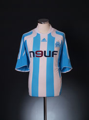 2007-08 Olympique Marseille Away Shirt XL
