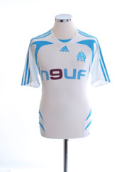 2007-08 Olympique Marseille Home Shirt S