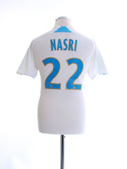2007-08 Olympique Marseille Home Shirt Nasri #22 L