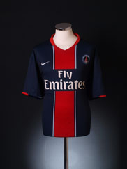 2007-08 Paris Saint-Germain Home Shirt XXL