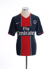 2007-08 Paris Saint-Germain Home Shirt S