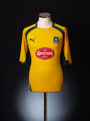 2007-08 Plymouth Away Shirt L