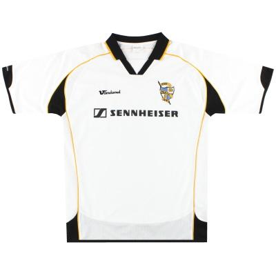 2007-08 Port Vale Vandanel Home Shirt L
