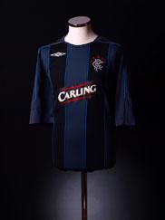 2007-08 Rangers Third Shirt M